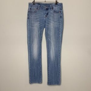 Lucky Brand Light Wash Lilly Lola Straight Jeans